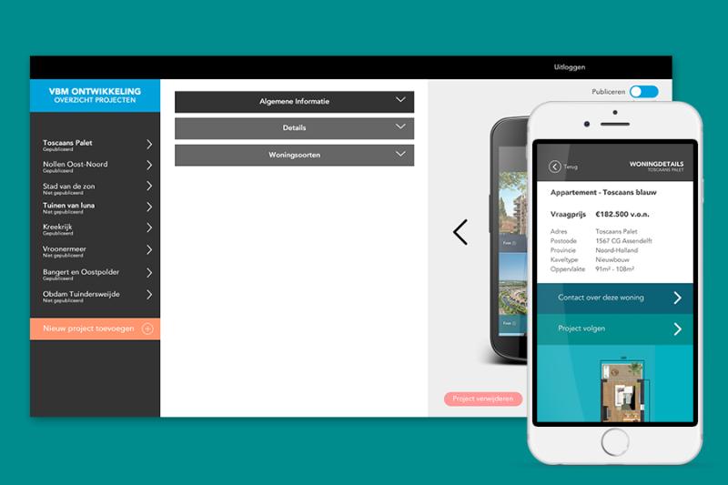 OnSale: app & CMS